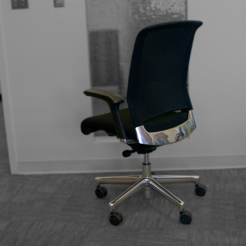 Interstuhl Xantos - Mesh Black Tech Chair Image