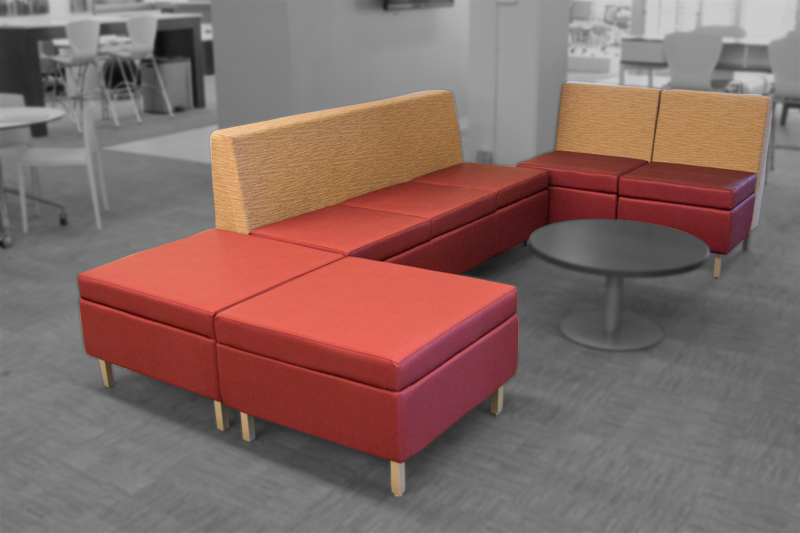 Kimball Villa Modular Waiting Furniture Image